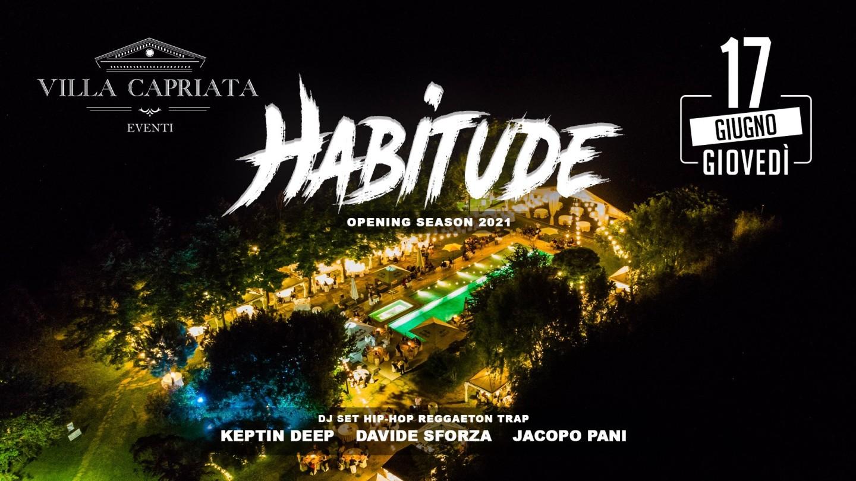 HABITUDE - Grand Opening