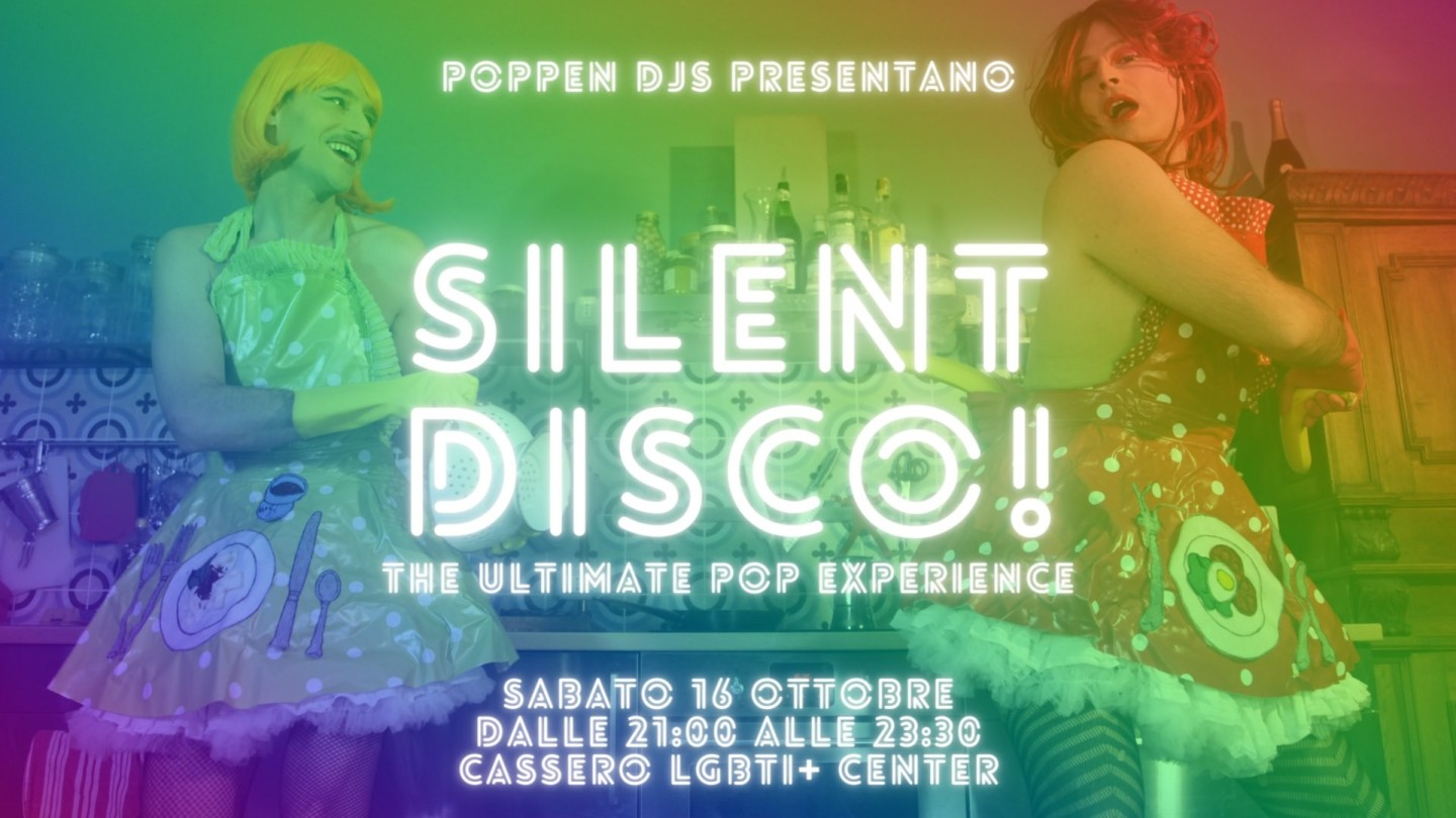 Silent Disco: the ultimate pop experience!