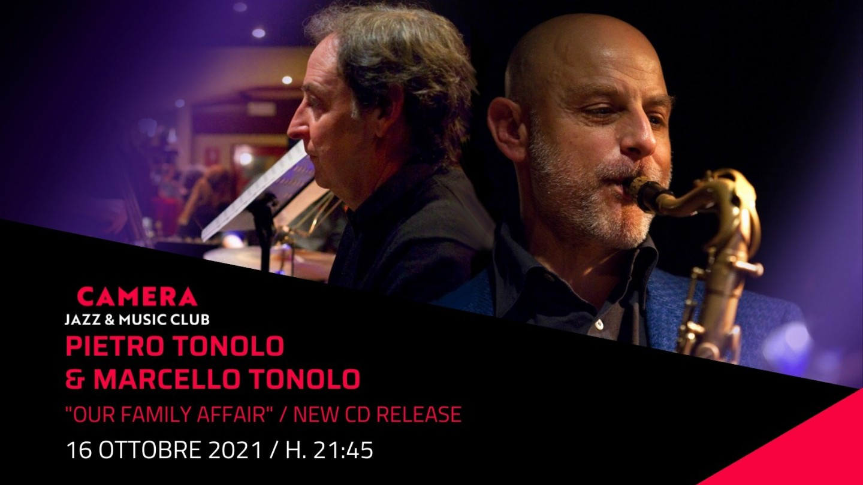 "Pietro Tonolo & Marcello Tonolo ""Our Family Affair"" New CD Release"