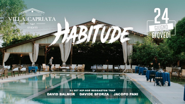 Habitude - il giovedì a Villa Capriata