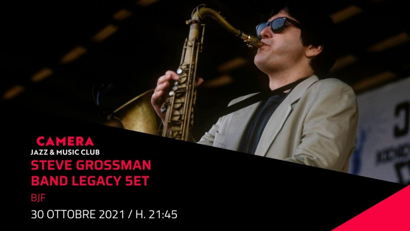 "Steve Grossman Legacy Band 5ET ""BJF"""